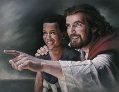 """And if any man sin, we have an advocate with the Father, Jesus Christ the Righteous."" — John Here, Jesus isn't just praying to the Father; He's praying to the Father for us. Lds Art, Bible Art, Jesus Smiling, Pictures Of Christ, Lds Pictures, Jesus Christus, My Jesus, Jesus Pics, Jesus Today"