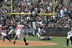 Week 2: Raiders vs. Falcons Game Action