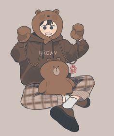 Character Design Teen, Character Art, Art Sketches, Art Drawings, Boy Drawing, Cute Art Styles, Dibujos Cute, Korean Art, Cute Characters