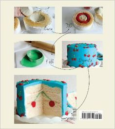 Surprise-Inside Cakes: Amazing Cakes for Every Occasion--with a Little Something Extra Inside: Amanda Rettke: 9780062195319: Amazon.com: Boo...