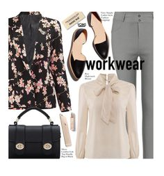 """""""Yoins Office Style"""" by beebeely-look ❤ liked on Polyvore featuring Loeffler Randall, Burberry, WorkWear, office, fallfashion, yoins and officeblazer"""