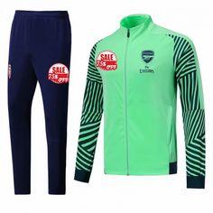 7355884e7 Arsenal Training Kits (Green Navy High Neck Jacket + Trousers) 2018-19  Model  Goal63781 Cheap Football Tracksuits on Goaljerseyshop.com
