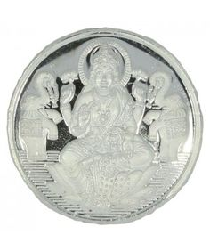"""Buy Silver Coin online available @ lowest price. Lakshmi Religious white coin. 100% purity guaranteed. Free Singapore Shipping on ALL orders."""""""