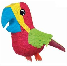 Party Zone USA - Parrot Pinata, $11.98 (http://www.partyzoneusa.com/parrot-pinata/)