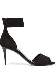 Giuseppe Zanotti Suede sandals   THE OUTNET