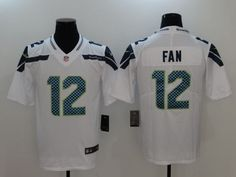 0dd46a21290 Nike Men's Seattle Seahawks Customized Game White Jersey   Products    Pinterest   Nfl jerseys, NFL and Seattle Seahawks