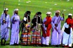 Rashaida dancers (representatives of one of the nine ethnic groups in Eritrea).