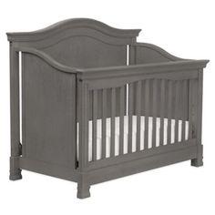Million Dollar Baby Classic Louis 4-in-1 Convertible Crib in Manor Grey - BedBathandBeyond.com