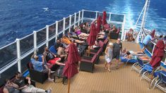 Smoking Cigars on Carnival Vista Cruise Ship Designated Area, Cigar Smoking, Cigars, Carnival, Cruise, Deck, Ship, Smoke, Cruises