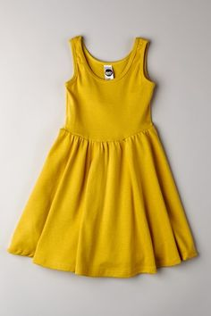 Organic Ribbed Skater Dress on HauteLook
