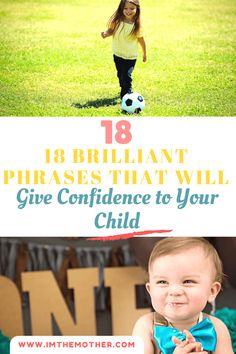 For your child don't have trust issues, or to stop to have, I share with you 18 Brilliant Phrases That Will Give Confidence To Your Child.  Plus free printable Check this out at ⏩ www.imthemother.com