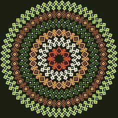 Advanced Embroidery Designs - Celtic Circle Ornament Celtic Circle, Celtic Tree Of Life, Celtic Knot, Advanced Embroidery, Erin Go Bragh, Triquetra, Celtic Designs, Satin Stitch, Leprechaun