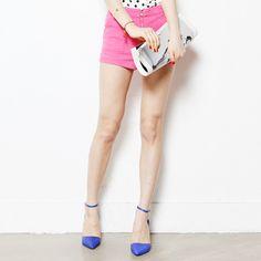 5 color _ Zipper Shorts  $19.25