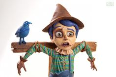 The Scarecrow - Epoxy Clay Sculpture