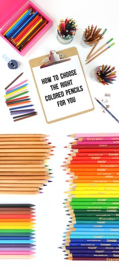 This post is awesome! It's a great detailed guide to choosing colored pencils. It reviews the different brands and types of colored pencils and helps you know what type to get. Perfect for anyone who loves adult coloring books!