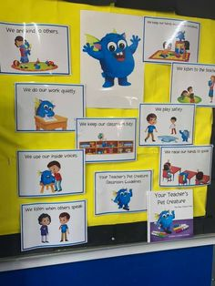 Our posters in one of our customer's classrooms. Encourage positive behaviours in your classroom too! Head to our website now. Classroom Behavior Management, Behaviour Management, Teachers Pet, Positive Behavior, Cute Plush, Child Love, Early Childhood Education, Your Teacher, The Book