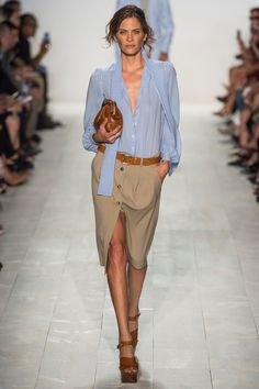 Gorgeous blouse!  Michael Kors Spring 2014 Ready-to-Wear Collection Slideshow on Style.com