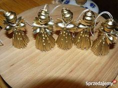 icu ~ Aniołki z makaronu Wołomin Macaroni Art, Macaroni Crafts, Pasta Crafts, Kids Christmas Ornaments, Diy Christmas Tree, Simple Christmas, Christmas Projects, Christmas Decorations, Christmas Angels