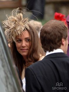 Kate Middleton leaving Laura Parker Bowles and Harry Lopes' wedding