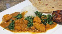 Curry & flatbreads