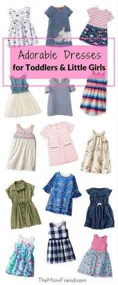 Adorable Toddler Dresses for Stylish Little Girls Toddler Summer Dresses, Toddler Dress, Toddler Outfits, Baby Dress, Kids Outfits, Toddler Girl Style, Toddler Fashion, Kids Fashion, Toddler Girls