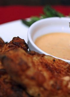 Southern Fried Chicken Strips with mouthwateringChili Garlic Dipping Sauce » A Southern Fairytale