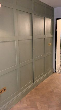 Secret doors Secret doors Placefortyeight Placefortyeight Placefortyeight One of the main objectives of the renovation extension was to create a large nbsp hellip Hidden Doors In Walls, Closet Doors Painted, The Doors, Sliding Closet Doors, Home Deco, Feng Shui, Bedroom Cupboard Designs, Wardrobe Designs For Bedroom, Bedroom Ideas