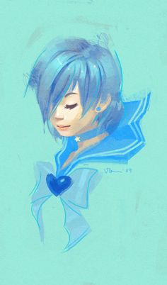 Sailor Mercury by 1022 on DeviantArt