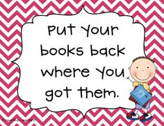 """cute (and free) library posters! - """"Reading Garden"""" posters for my classroom :) Classroom Projects, Classroom Design, Future Classroom, School Classroom, Classroom Ideas, Classroom Routines, Class Library, Elementary Library, Library Lessons"""