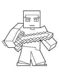 Minecraft Herobrine Coloring Pages School Coloring Pages, Coloring Pages For Boys, Colouring Pages, Printable Coloring Pages, Coloring Sheets, Coloring Books, Kids Colouring, Steve Minecraft, Lego Minecraft