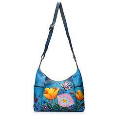 Denim Floral Garden Bag