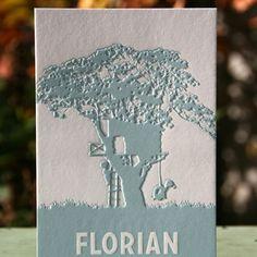 Geboortekaartje Florian - Letterpers.nl