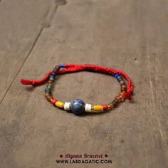 NEW • READY STOCK • AIYANA (unisex) BRACELET • Material : * Sodalite stone * Antique glass beads * Thread • Shop : line : labdagatic Whatsapp : 088805534461 • WWW.LABDAGATIC.COM • #labdagatic #handmade #jewelry #accessories #bracelet #yogajewelry #brown #summer #jualgelang #popethnic #malang #localbrand #indonesia #gelangcowok #sodalite #glassbeads #localbrandinvasion #hippies #bohemian #unisex #menbracelet