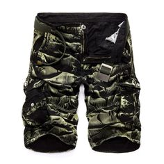 Camouflage Shorts, Military Camouflage, Camo Shorts, Cotton Shorts, Casual Shorts, Men Shorts, Military Army, Casual Outfits, Camo Men