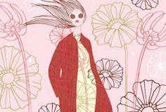 Fashion Illustration By Anja Kroencke   theartinspiration.com