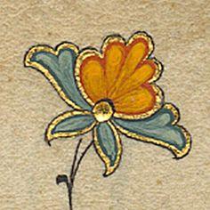 Embroidery ideas (from book / script illumination) Arabic Calligraphy Art, Arabic Art, Flower Graphic Design, Woodcut Art, Islamic Art Pattern, Illumination Art, Turkish Art, Arabesque, Medieval Art
