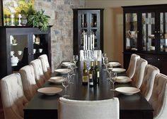 1000 images about mobilier de salle manger on pinterest On table salle a manger jc perreault