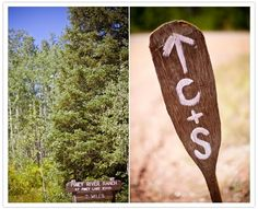 rustic-paddle-wedding-signs