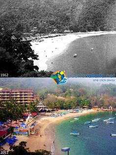 Mismaloya Beach Photos comparing Puerto Vallarta of the past with the Puerto Vallarta of the present. http://www.puertovallarta.net/gallery/puerto-vallarta-historical-comparisons.php  Fotos que comparan el pasado de la ciudad con el presente. http://www.puertovallarta.net/espanol/galeria/comparaciones-historicas.php  #puertovallarta #vallarta #antesydespues #beforeandafter