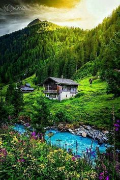 The quaint Hohe Tauern national park in Austria. Places Around The World, Oh The Places You'll Go, Places To Travel, Places To Visit, Around The Worlds, Wonderful Places, Beautiful Places, Beautiful Pictures, Magic Places