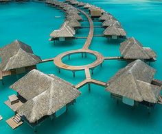 Heaven is real and it can be found at the Four Seasons hotel in Bora Bora. Tucked within the pristine waters of the South Pacific, the hotel offers first class accommodations and unmatched service set against a backdrop of lush jungles and turquoisewaters.