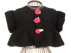 Girls Knitting Patterns Toddler Girls Knitting Patterns Shrug Knitting Patterns Sizes 2-3 Yrs Sweater Knitting Pattern for Girls via PDF