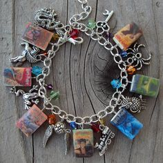 Harry Potter fringe charm bracelet on Etsy. I need this in my life