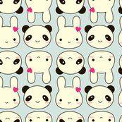 panda bunny kawaii