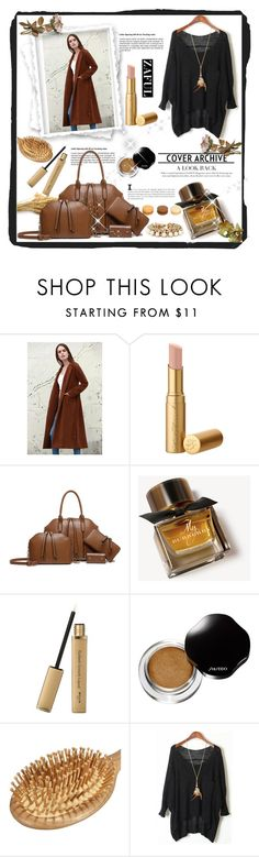 """""""Zaful 10/2"""" by erina-salkic ❤ liked on Polyvore featuring Burberry and Shiseido"""