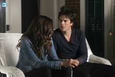 "#TVD 6x19 ""Because"" - Damon and Elena"