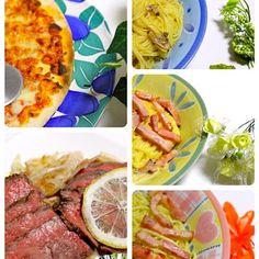 撮影して食べ、撮影して食べ、撮影して食べ、ゆっくり食べたい。 家で食べる晩ご飯は最高。 妻の休みは、楽しいね。 - 101件のもぐもぐ - 一度に作りすぎ  カルボナーラ&ペペロンチーノ&ボンゴレビアンコ  ピザ  ローストビーフ by hiroshikimDeU