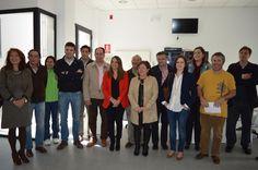 La delegada de Educación estudia el proyecto de la Formación Dual en Villanueva de Córdoba