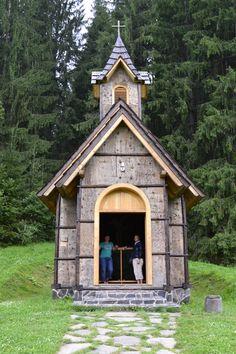 Kostolík, Dobročský prales, Horehronie - Slovensko Church, Dobroč forest, Horehronie - Slovakia