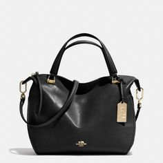 The Madison Smythe Satchel In Leather from Coach Oh my my yes!